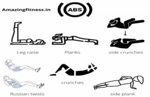 8 pack abs exercises